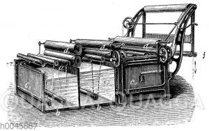 Breitwaschmaschine