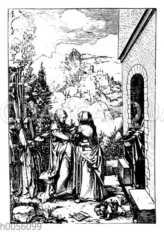 Die Heimsuchung von Albrecht Dürer