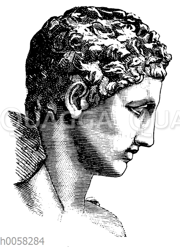 Hermes des Praxiiteles von Olympia