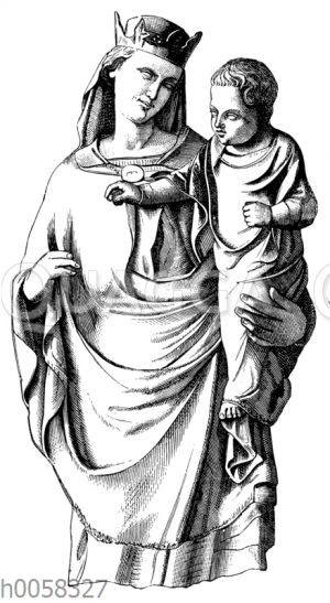 Madonna in Santa Maria della Spina zu Pisa