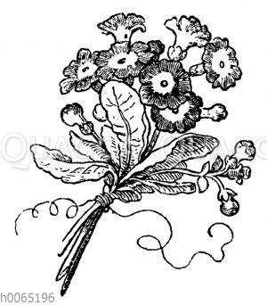 Vignette: Blumensträußchen