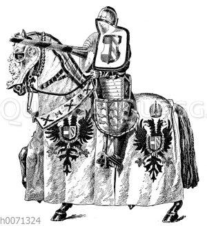 Harnisch für das Lanzenstechen (Harnois de Joute)