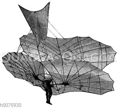 Lilienthals Flugapparat