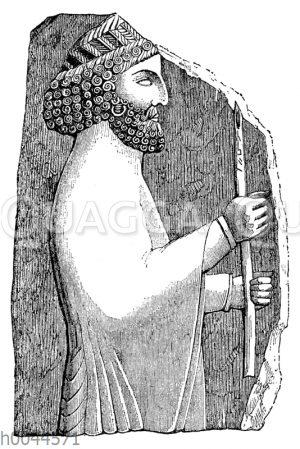 Porträt eines Ariers