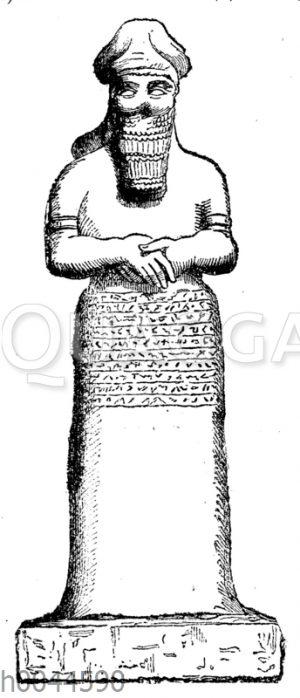 Nebo-Statue