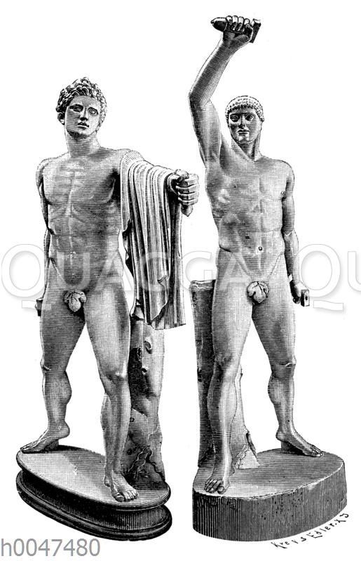 Tyrannenmörder Harmodios und Aristogeiton