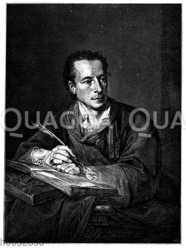 Johann Joachim Winckelmann im 47. Lebensjahr