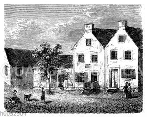 Herders Geburtshaus in Mohrungen