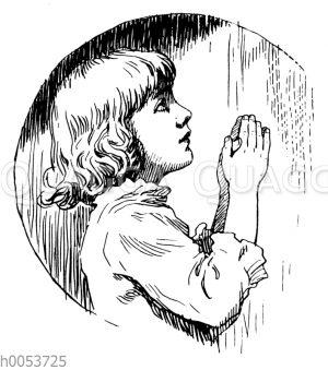 Betendes Kind