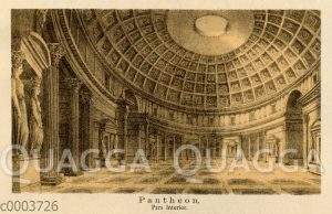 Pantheon in Rom. Innenansicht