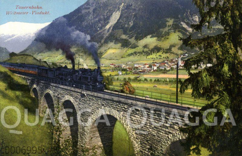 Tauernbahn: Weitmoser Viadukt
