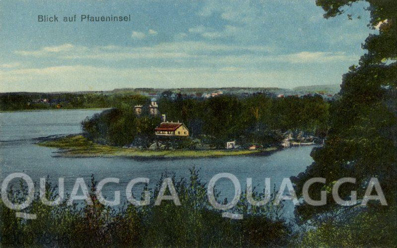 Wannsee: Blick auf die Pfaueninsel