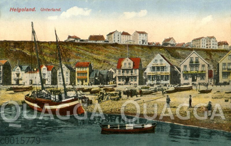 Helgoland: Unterland