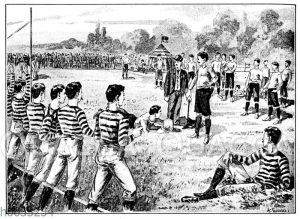 Rugby-Spiel