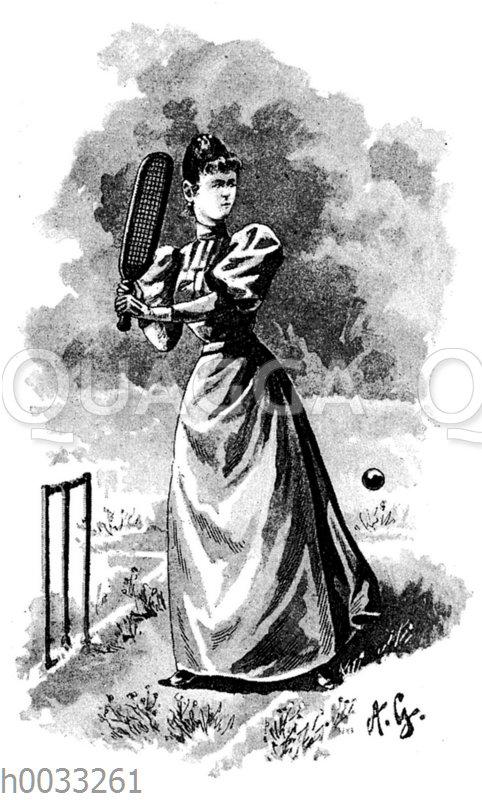 Damen-Kricket