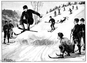 Skihügel