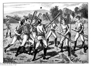 Lacrosse-Spiel