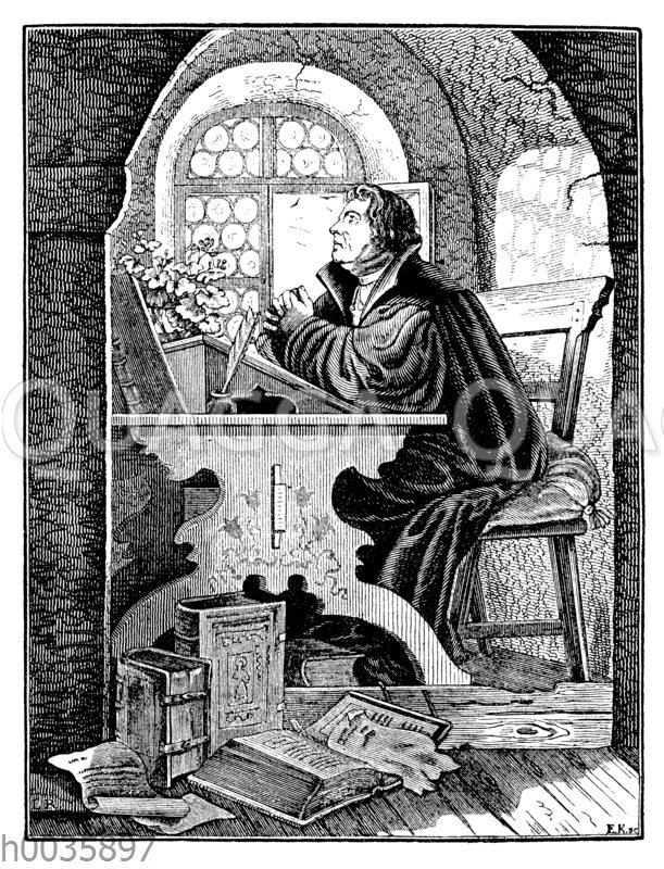 Gelehrter in seiner Schreibstube