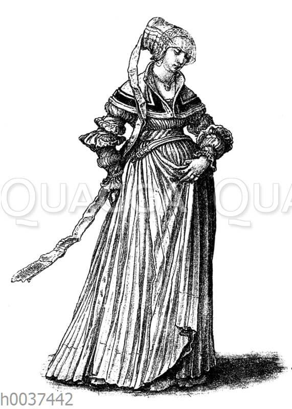 Baseler Frauentrachten zu Anfang des 16. Jahrhunderts