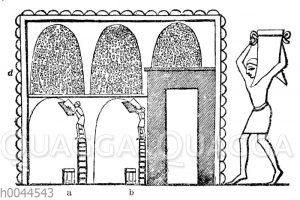 Ägyptischer Kornspeicher
