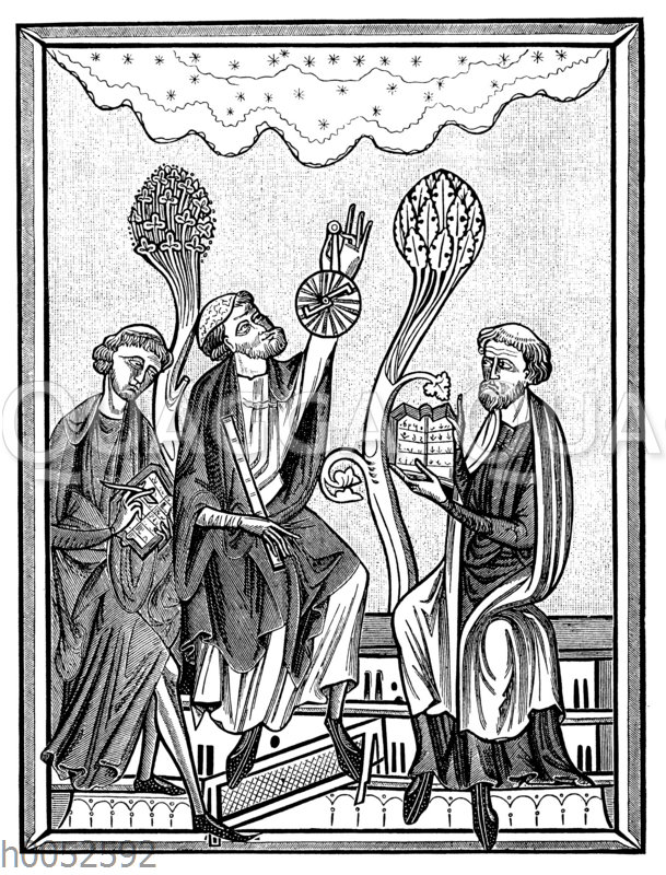 Himmelsbeobachtung mt einfachen Instrumenten im 13. Jahrhundert