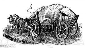 Pferdewagen