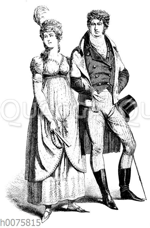 Mode um 1800