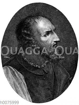 Ludovico Ariosto. Nach dem Gemälde von Dosso Dossi
