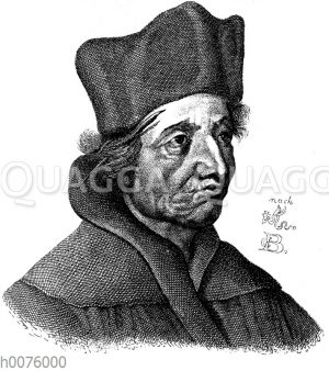 Dr. Johannes Eck. Nach einem Kupferstich
