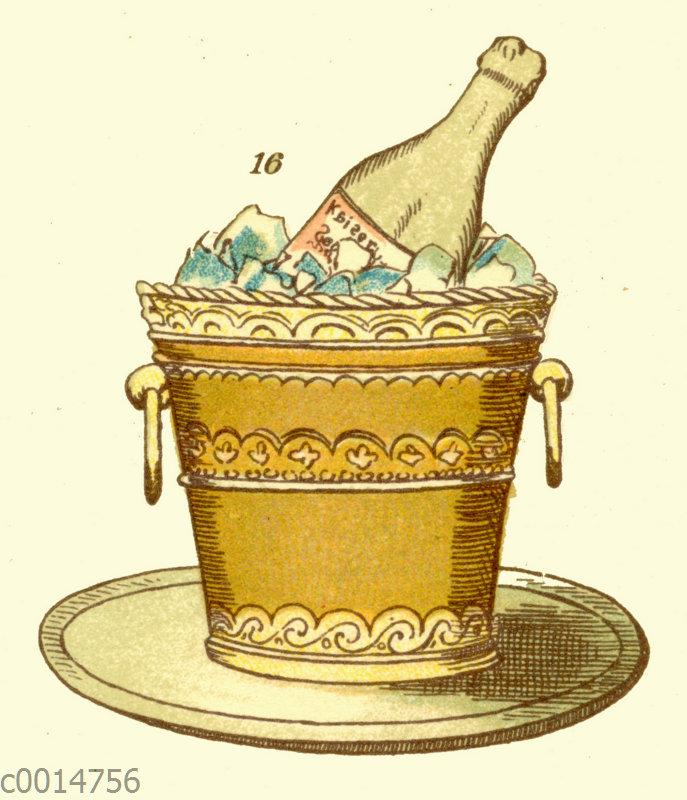Eisbombe Champagnerkühler