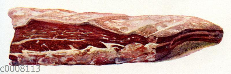 Rindfleisch: Querrippe