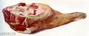 Fleisch: Hammelkeule