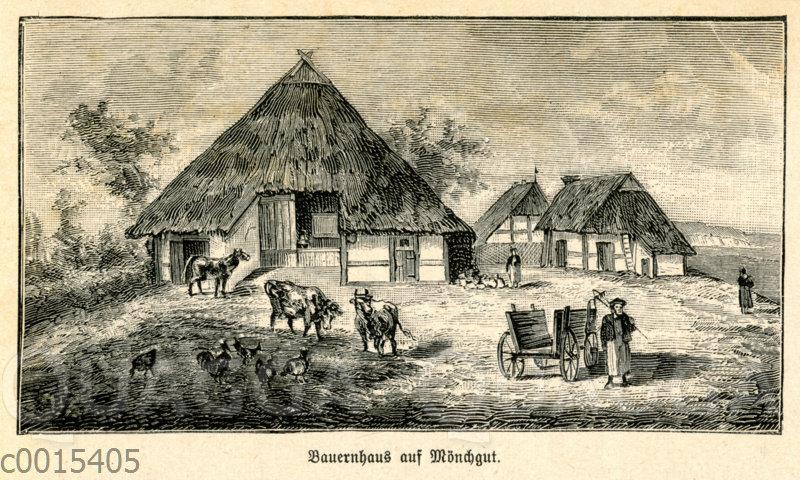 Bauernhaus auf Mönchgut