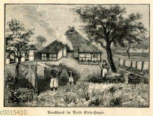 Rauchhaus in Klein-Hagen auf Rügen