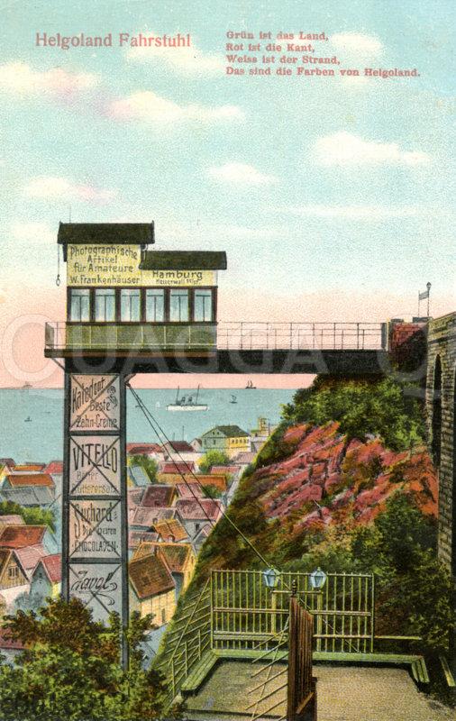 Helgoland: Fahrstuhl zum Oberland