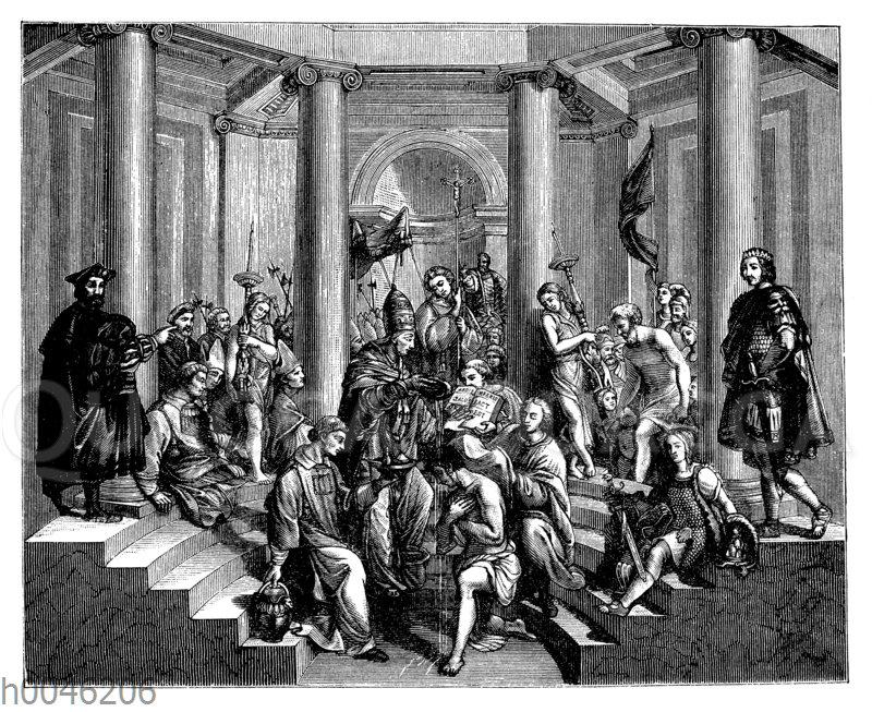 Taufe Constantins des Großen