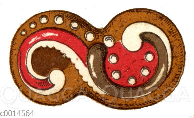 Lebkuchen Mit Dekor Quagga Illustrations