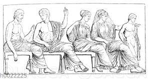 Göttergruppe vom Parthenonfries
