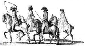 Daniel Chodowiecki auf der Reise nach Dresden 1789