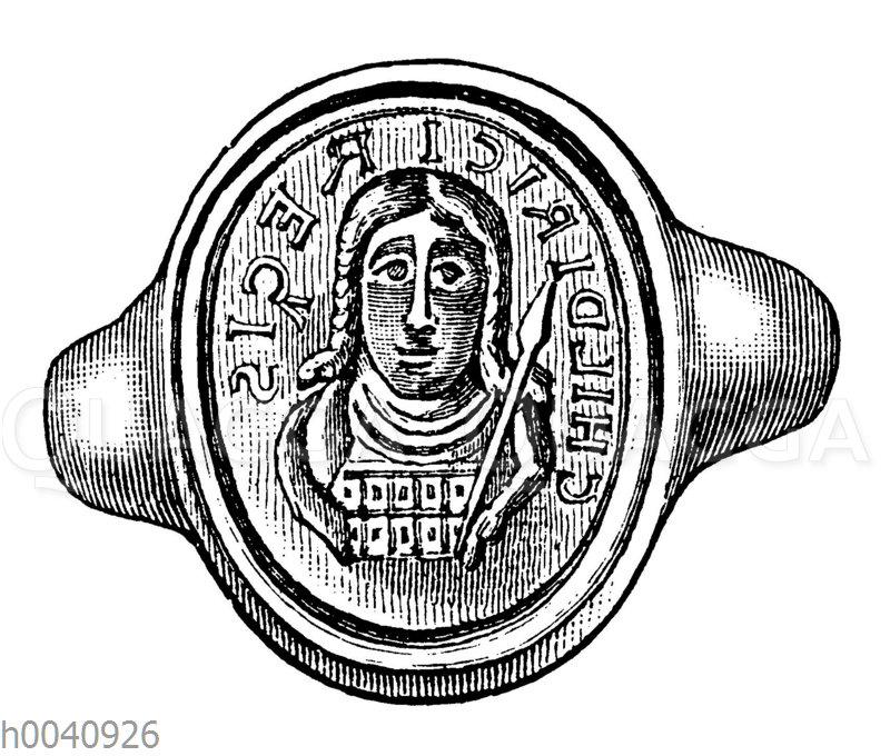 Siegelring König Childerichs I.