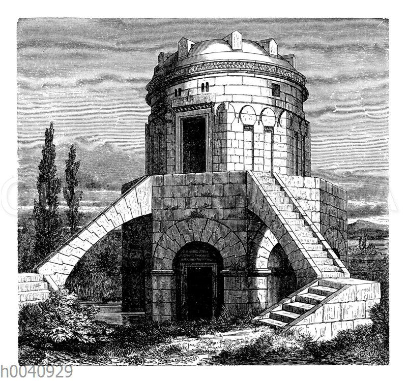 Das Grabmal Theoderichs bei Ravenna