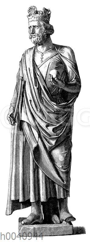 Standbild Kaiser Heinrichs II.