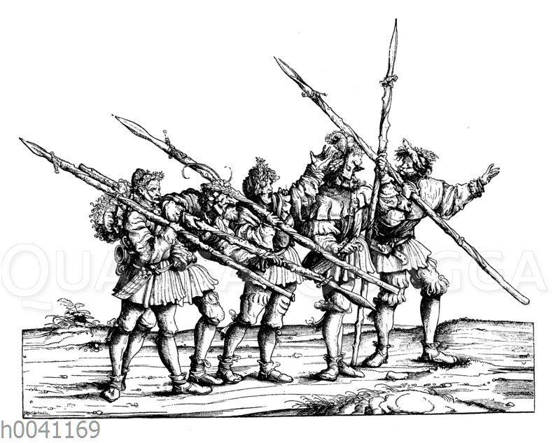 Bärenjäger: Gruppe aus Maximilians I. Jägerei