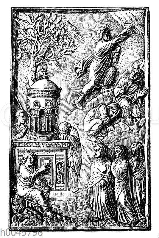 Himmelfahrt Christi (Elfenbeintafel)