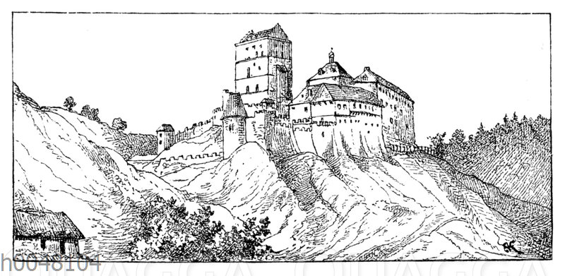 Schloss Karlstein in Böhmen
