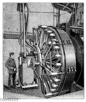 Elektrischer Generator von Siemens