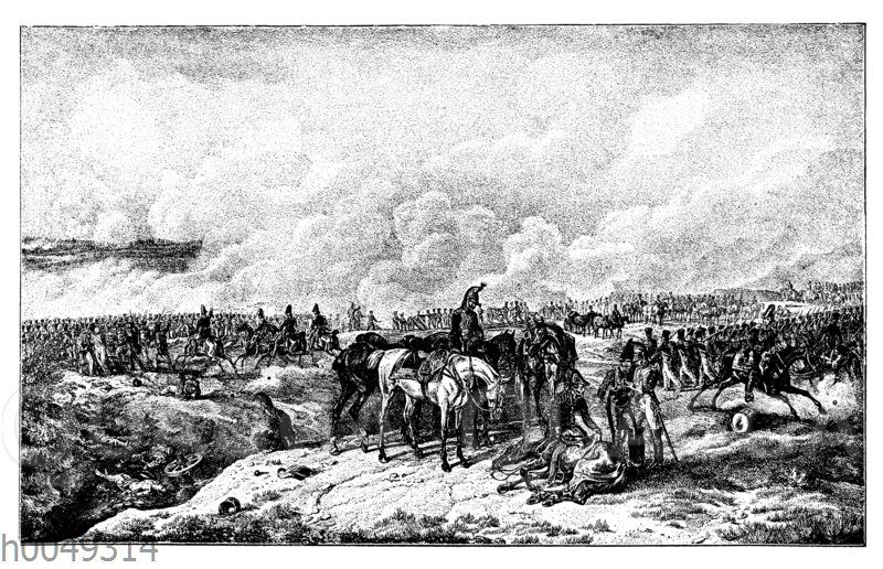 Schlacht bei Borodino am 7. September 1812