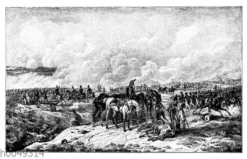 Schlacht bei Borodino am 7. September 1812