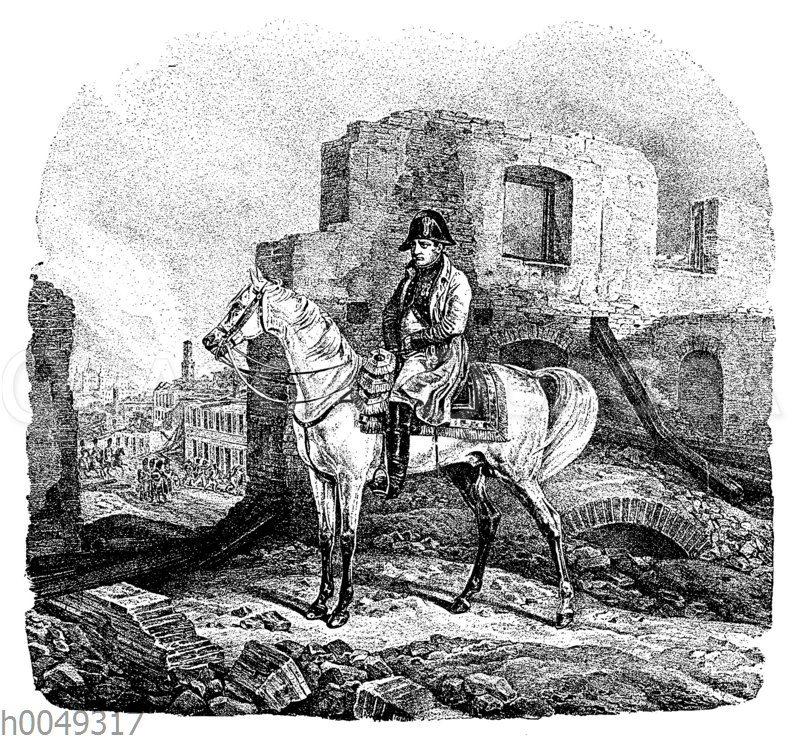 Napoleon in Moskau am 22. September 1812