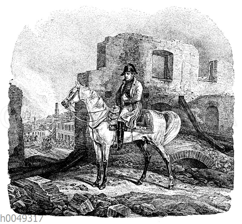 Napoleon in Moskau am 22. September 1812